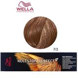 Vopsea Crema Permanenta - Wella Professionals Koleston Perfect ME+ Rich Naturals, nuanta 7/3 Blond Mediu Auriu