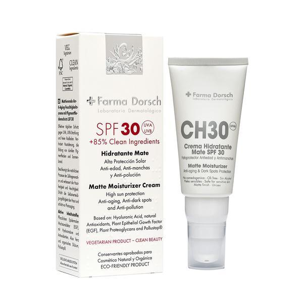 Cremă hidratantă mată anti-age SPF 30 Farma Dorsch 50 ml esteto.ro