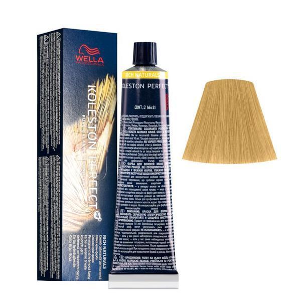 Vopsea Crema Permanenta - Wella Professionals Koleston Perfect ME+ Rich Naturals, nuanta 10/3 Blond Luminos Auriu poza