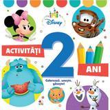 Disney. activitati 2 ani. coloreaza, uneste, gaseste