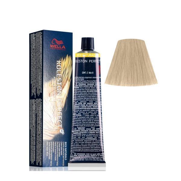 Vopsea Crema Permanenta - Wella Professionals Koleston Perfect ME+ Rich Naturals, nuanta 8/97 Blond Deschis Albastru Maro poza
