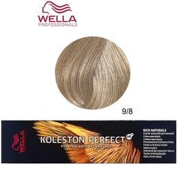 Vopsea Crema Permanenta – Wella Professionals Koleston Perfect ME+ Rich Naturals, nuanta 9/8 Blond Luminos Albastrui de la esteto.ro