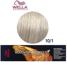 Vopsea Crema Permanenta – Wella Professionals Koleston Perfect ME+ Rich Naturals, nuanta 10/1 Blond Luminos Cenusiu de la esteto.ro