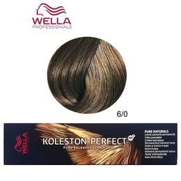 Vopsea Crema Permanenta - Wella Professionals Koleston Perfect ME+ Pure Naturals, nuanta 6/0 Blond Inchis