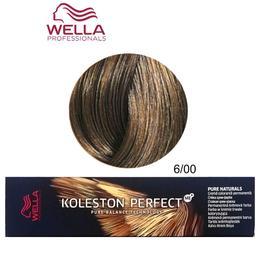 Vopsea Crema Permanenta – Wella Professionals Koleston Perfect ME+ Pure Naturals, nuanta 6/00 Blond Inchis Natural de la esteto.ro