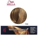 Vopsea Crema Permanenta - Wella Professionals Koleston Perfect ME+ Pure Naturals, nuanta 7/00 Blond Mediu Natural
