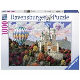 Puzzle neuschwanstein, 1000 piese - Ravensburger