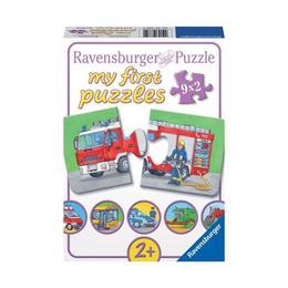 Puzzle vehicule motorizate, 9x2 piese - Ravensburger