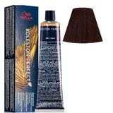 Vopsea Crema Permanenta - Wella Professionals Koleston Perfect ME+ Deep Browns, nuanta 4/77 Castaniu Mediu Castaniu Intens