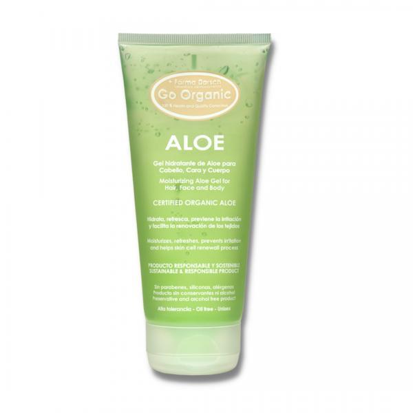 Gel pentru corp și păr Aloe Vera Organic Farma Dorsch 200 ml