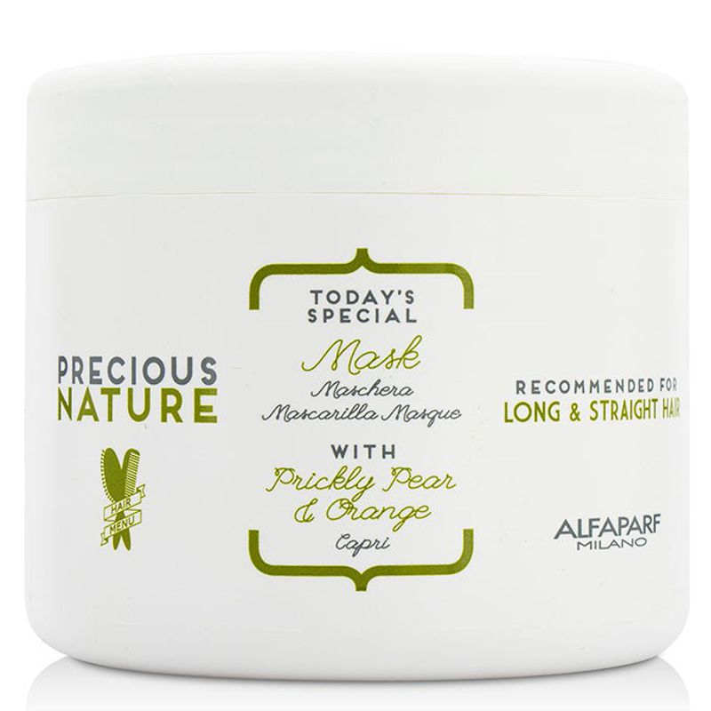 Imagine Masca Pentru Par Lung Si Drept Alfaparf Milano Precious Nature Mask