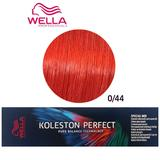 Vopsea Crema Permanenta Mixton - Wella Professionals Koleston Perfect Special Mix, nuanta 0/44 Rosu Intens