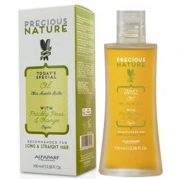 Ulei pentru Par Lung si Drept - Alfaparf Milano Precious Nature Oil 100 ml