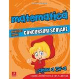 Matematica - Clasa 4 - Pregatirea pentru concursuri scolare - Daniela Berechet, editura Cartea Romaneasca