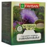 Ceai pentru Scaderea Colesterolului Nutrisan HC Favisan, 50g