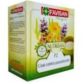 Ceai contra Parazitozelor Nutrisan PZ Favisan, 50g