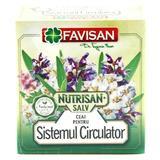 Ceai pentru Sistemul Circulator Nutrisan SALV Favisan, 50g