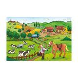Puzzle munca la ferma, 2x12 piese - Ravensburger