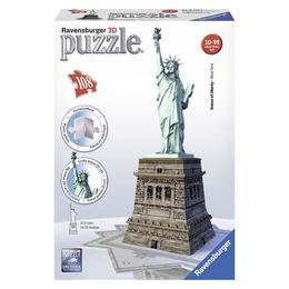 Puzzle 3d statuia libertatii 108 piese - Ravensburger