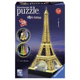 Puzzle 3d turnul eiffel noaptea, 216 piese - Ravensburger