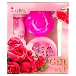 Set Cadou Rose Fine Perfumery - Sapun, Crema de Fata, Crema de Maini
