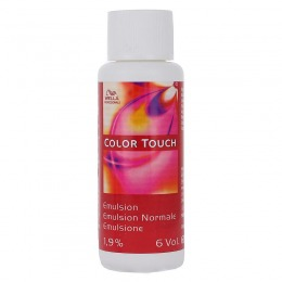 Oxidant Vopsea fara Amoniac 6 vol - Wella Professionals Color Touch Activating Emulsion 1,9 % 60 ml