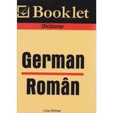 Dictionar german-roman - Livia Wittner, editura Booklet