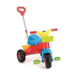 Tricicleta de jucarie cu pedale pentru copii Nebunici
