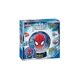 Puzzle 3d luminos spiderman, 108 piese - Ravensburger