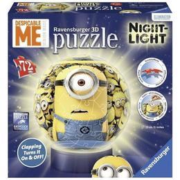 Puzzle 3d minions cu lumina 72, piese - Ravensburger