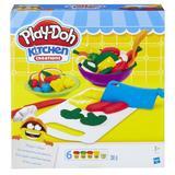 Set Play-Doh Unelte de bucatarie 6 culori, 9 piese Nebunici