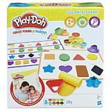 Set Play-Doh culori si forme 8 culori