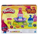 Set Play-Doh Trolls Coafeaza trolii 7 culori Nebunici