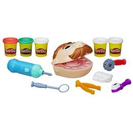 Set Play-Doh Dr Drill set de joaca dentist 5 culori Nebunici