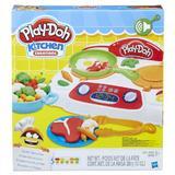 Set Plastilina Play-Doh Kitchen Creations Plita pentru gatit cu accesorii 5 culori Nebunici