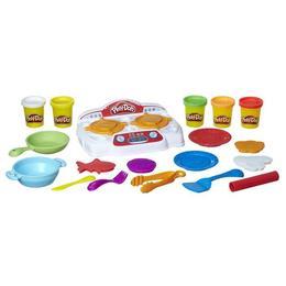 Set Plastilina Play-Doh Pizzeria cu accesorii 4 culori Nebunici