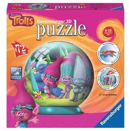 Puzzle 3d trolls, 72 piese - Ravensburger