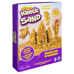 Set Nisip kinetic modelabil Kintetic Sand Spin Master Pietre pretioase Portocaliu