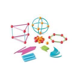 Set de constructie pentru copii Learning Resources - Forme geometrice , 122 pcs