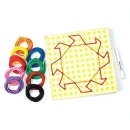 Set creativ de jucarie pentru copii, set de cusut, Learning Resources 16 modele