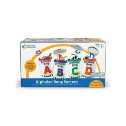 Set educativ pentru copii Learning Resources - Invata alfabetul cu Supa de alfabet
