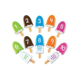 Set educativ pentru invatarea cifrelor-Inghetate cu cifre - Learning Resources