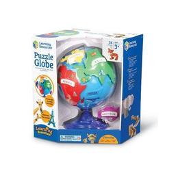 Globul pamantesc pentru copii Learning Resources Puzzle interactiv