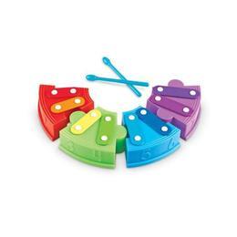 Set educativ pentru invatarea numerelor, sunetelor, culorilor Learning Resources - Xilofonul istet