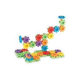 Set educativ de constructie pentru copii cu roti dintate Gears! Gears! Gears!! Learning Resources - 60 de piese
