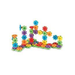 Set educativ de constructie cu roti dintate Gears! Gears! Gears!-Learning Resources 100 de piese