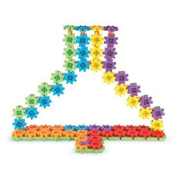 Set gigant de constructie cu roti dintate Gears! Gears! Gears! Learning Resources- Micul inginer 150 de piese