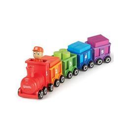 Trenuletul cu numere si culori Choo-Choo Learning Resources