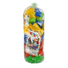 Cuburi constructii pentru copii 200 piese - Nebunici