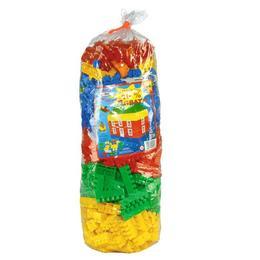 Cuburi constructii pentru copii multicolore 500 pcs - Nebunici